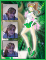 Sailor Jupiter Cosplay, Casual by kast43