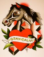 stay calm by xveganmafiax
