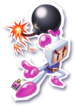 Hey you, CATCH!       [BOMBERMAN] by MarkProductions