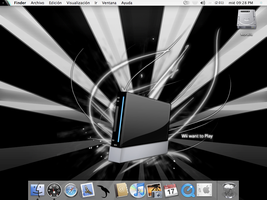 Wii Want To Play in Mac OS X by dark-mac