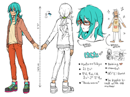 OC ref: Kenta by p-ivetto