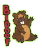 Bidoof for Evilpacman by Kawaii-Chocobo