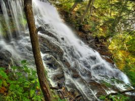 Ricketts Glen State Park 86 by Dracoart-Stock