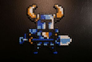 Shovel Knight - Hama Beads by Nidoran4886