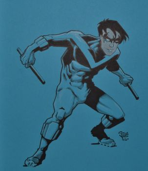 Nightwing by Steevcomix