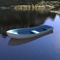 Bryce 7.1 Pro - unwaterlogging a boat tutorial by davidbrinnen