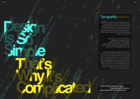 Typography Editorial by jamesy165