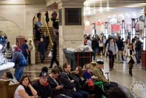 Grand Central Sitters by steeber