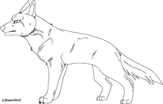 Ginga Styled GSD TEMPLATE by KasaraWolf
