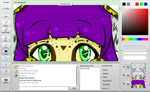 iScribble in Private by Frenchielover4ever