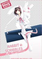 Rabbit by Kaze-Hime
