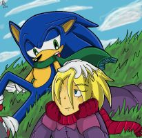 Sonic and Madonna -OLD- by Chicaaaaa