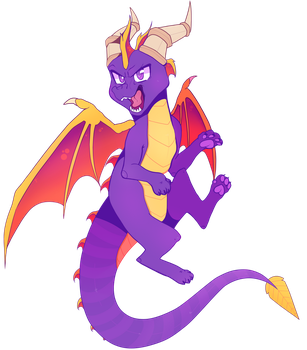 Spyro by wildflre
