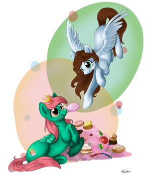 :D Sweets are the girls best friends by Trunksi