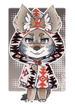 Coyote character by lillacs