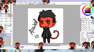 XMFC Azazel Shimeji by twin-deer
