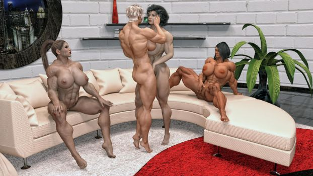 Muscle Foursome by Bimbastick