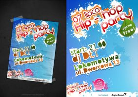 Hip hop party poster by touchdesign