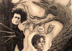 Tim Burton by Coupeur