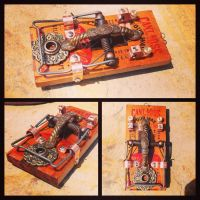 McGill tattoo rat trap foot switch by Stegco