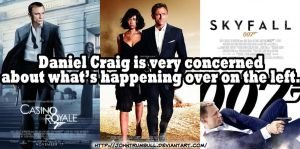 Daniel Craig is Very Concerned. by johntrumbull