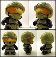 Master Chief 2 by Cacodaemonia