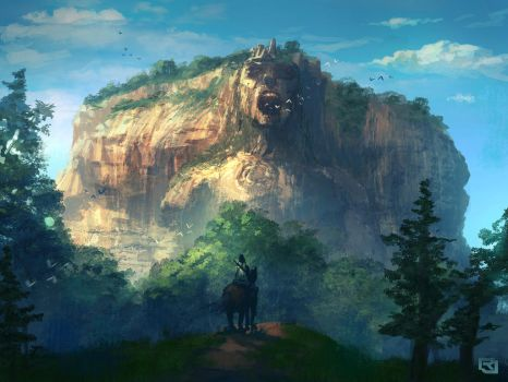 The Screaming Mountain by Rob-Joseph