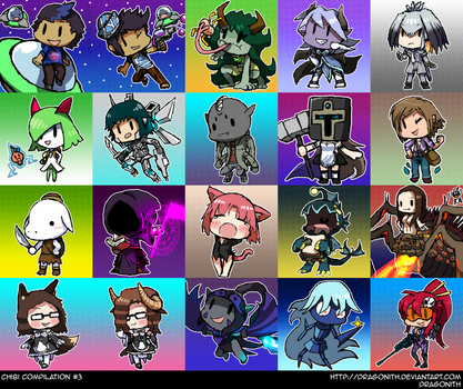 Chibi Compilation #3 by Dragonith