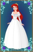 Ariel's Wedding Gown by Inuyashasmate