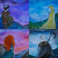 BIG FOUR- Rise of the brave tangled dragons by AnnaMystiQue
