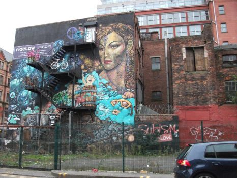 Manchester tour by AirGraffiti