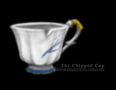 The Chipped Cup by adventaim