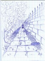 Sketch 1 - The Leaving by Vainamoinenian