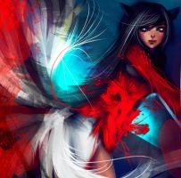 Bloody Ahri by ryky