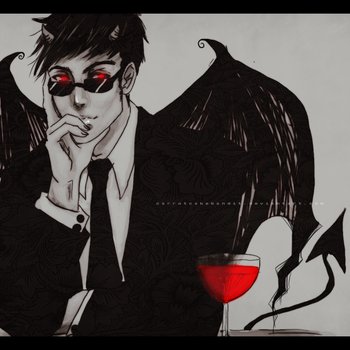 Crowley by CarrotCakeBandit