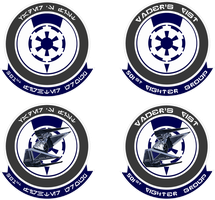 501st Fighter Group Insignias by viperaviator