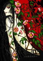 Yuko and flowers xxxholic by damec