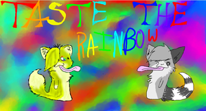 Taste the rainbow calab by spacecats13