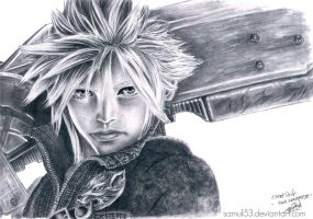 Cloud Strife - FF VII AC by samui153