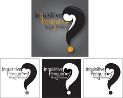 Inquisitive Penguin Design Solutions Logo by Chibi-Amimi