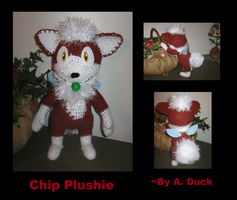 Chip Plushie by Milayou