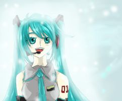 Vocaloid - Miku Hatsune by dreampaw