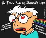 The Dark Side of Student's Life by GabriMax