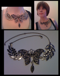 Fantasy Butterfly - Necklace by Lai-Tut