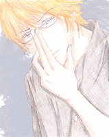 Mystery Man Colored by suki-megane