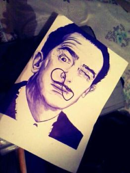Salvador Dali by Ventus099