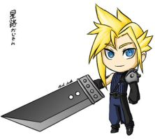 Chibi Cloud by Coley-wog