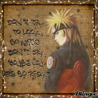 An advise for Naruto by paramore992