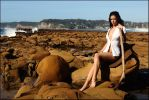 Stacey on the rocks 1 by wildplaces