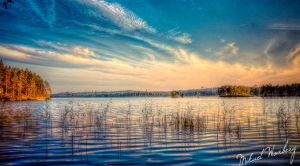 The lake by Flaeger